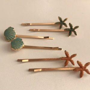 Hair bobby pins set